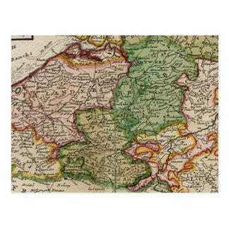 Carte Postale La Flandre ou Pays-Bas autrichien