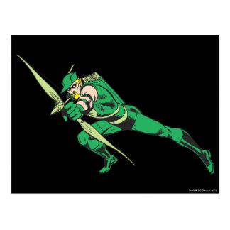 Carte Postale La flèche verte se tapit