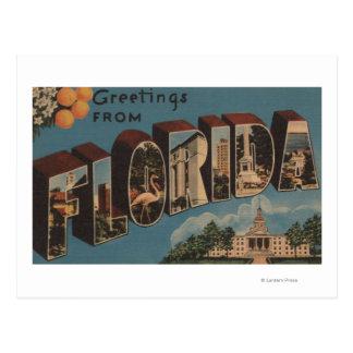 Carte Postale La Floride (bâtiment capital) - grande lettre