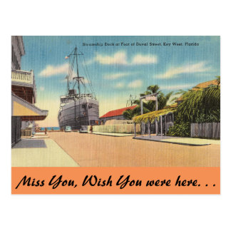 Carte Postale La Floride, Key West, St de Duval