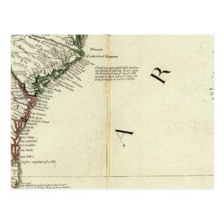 Carte Postale La Floride, la Géorgie, la Caroline du Sud