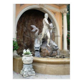 Carte Postale La fontaine de Neptune