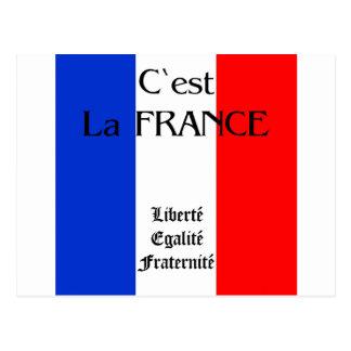 Carte Postale La France