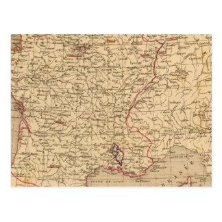 Carte Postale La France 1715 un 1774