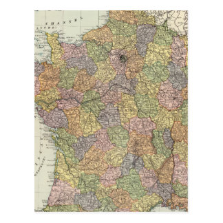 Carte Postale La France 6
