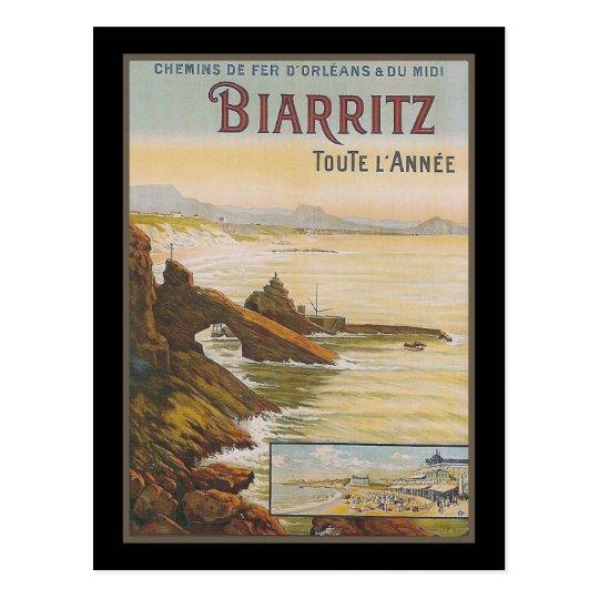 Carte Postale La France Biarritz   Zazzle.fr