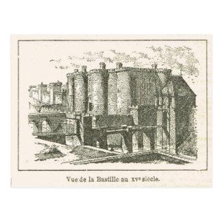 Carte Postale La France, la bastille au XVème siècle