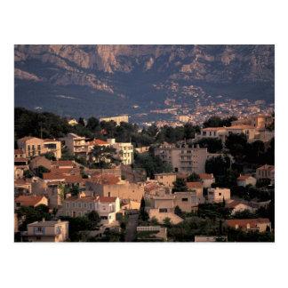 Carte Postale La France, Marseille, Provence. Banlieues du sud
