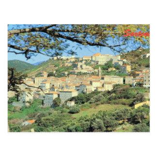 Carte Postale La France vintage Corse, Sartene, ville de sommet
