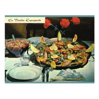 Carte Postale La France vintage, nourriture, espagnole de Le