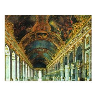 Carte Postale La France vintage, palais de Versailles