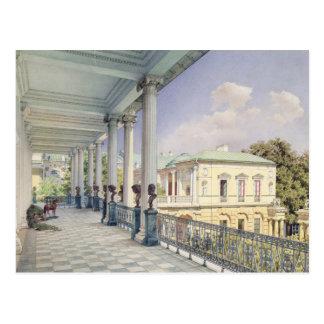 Carte Postale La galerie de Cameron chez Tsarskoye Selo, 1859