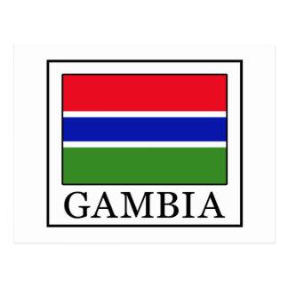Carte Postale La Gambie