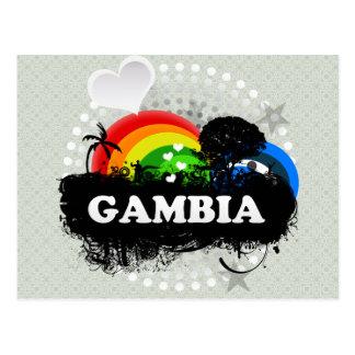 Carte Postale La Gambie fruitée mignonne
