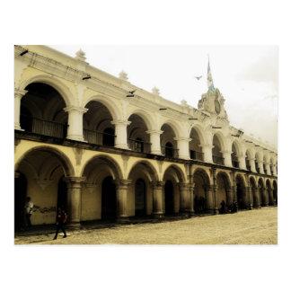 Carte Postale La garde du capitaine à l'Antigua Guatemala