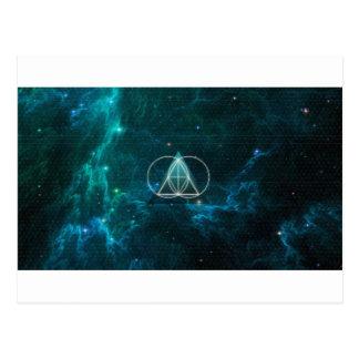 Carte Postale La géométrie sacrée