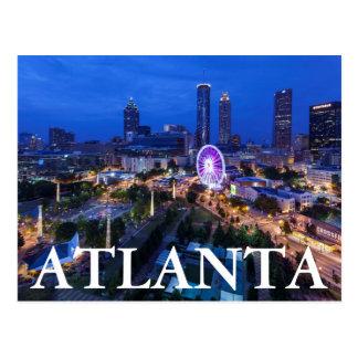 Carte Postale La Géorgie, Atlanta, parc olympique centennal