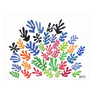 Carte Postale La Gerbe par Matisse