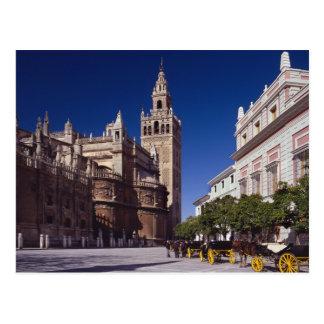 Carte Postale La Giralda de Séville, Espagne |