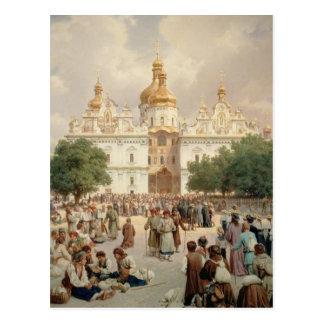 Carte Postale La grande église