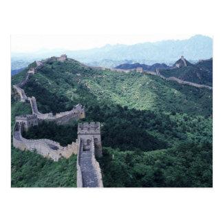 Carte Postale La Grande Muraille de la Chine près de Pékin