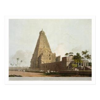 Carte Postale La grande pagoda, Tanjore, plat XXIV du 'Orient