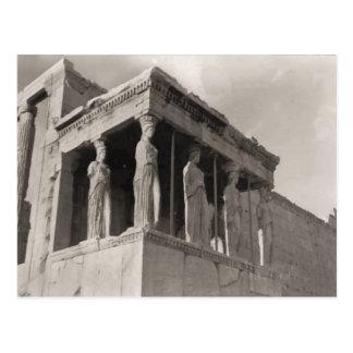 Carte Postale La Grèce, Athènes, Acropole, parthenon