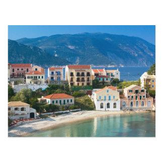 Carte Postale La GRÈCE, îles ioniennes, KEFALONIA, Assos : 2