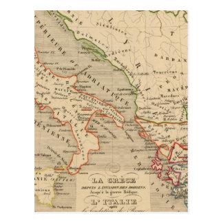Carte Postale La Grece, l'Italie, 1190 des 504 poids du commerce