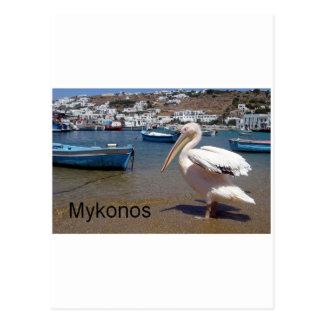 Carte Postale La Grèce Mykonos PETROS (St.K)