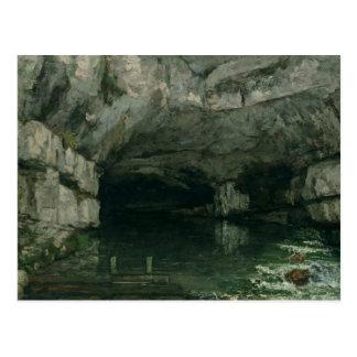 Carte Postale La grotte du Loue, 1864