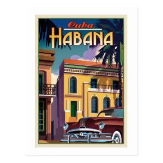 Carte Postale La Havane Cuba