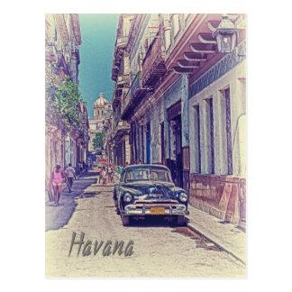 Carte Postale La Havane, Cuba