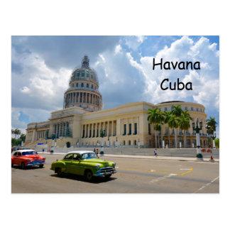 Carte Postale La Havane, Cuba, le bâtiment de capitol, capital