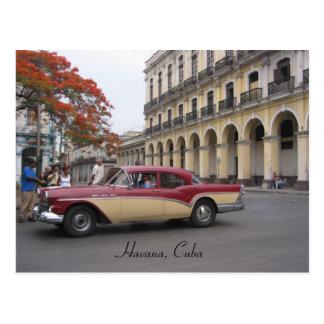 Carte Postale la Havane vintage