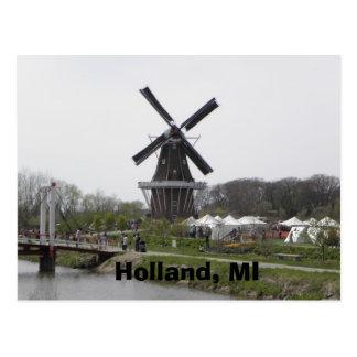 Carte Postale La Hollande, MI