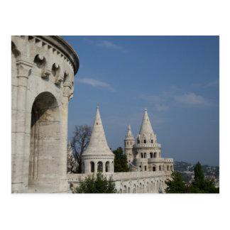 Carte Postale La Hongrie, capitale de Budapest. Buda, château