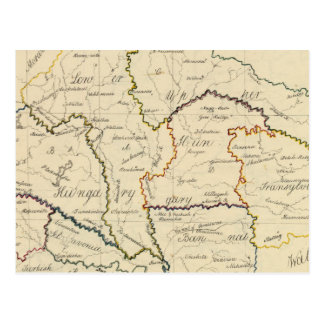 Carte Postale La Hongrie, la Transylvanie