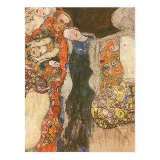 Carte Postale La jeune mariée (non finie) par Gustav Klimt