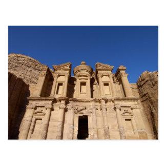 Carte Postale La Jordanie, PETRA, le monastère, Al Deir.