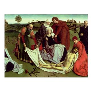 Carte Postale La lamentation au-dessus du Christ mort