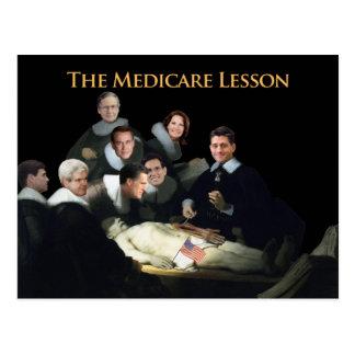 Carte Postale La leçon d'Assurance-maladie