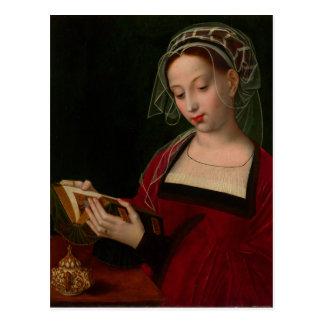 Carte Postale La lecture de Magdalen par Ambrosius Benson