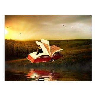 Carte Postale La lecture est magique - customisez-moi !