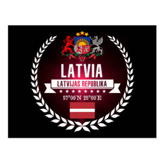 Carte Postale La Lettonie