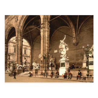 Carte Postale La loge de Lancers. Florence Italie