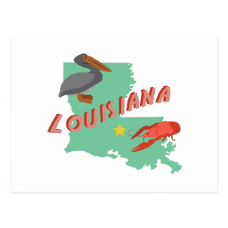 Carte Postale La Louisiane
