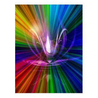 Carte Postale La lumière et l'énergie est la magie 2