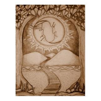 Carte Postale La lune
