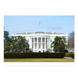 Carte Postale La Maison Blanche de la pelouse